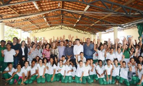 Seduc climatiza salas da Unidade Escolar Alírio Guerra de Macedo, em Curimatá