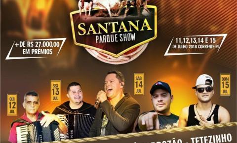 Vem aí a melhor vaquejada de Corrente e região, a 2ª Grande Vaquejada Santana Parque Show