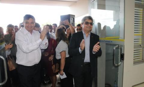 Governador Wellington Dias participa da reabertura do Banco do Brasil em Curimatá