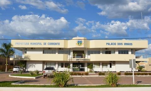 Prefeitura de Corrente publica edital confirmando a suspensão de processo seletivo