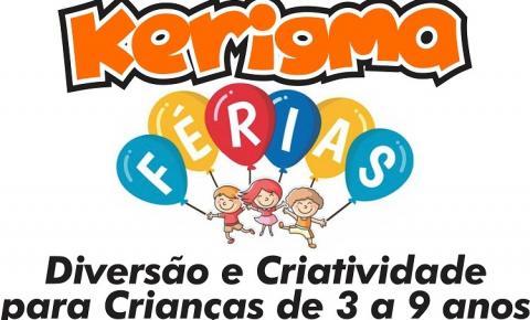Instituto Kerigma promove atividade de férias!