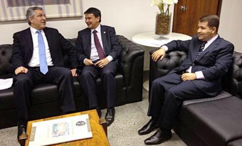 Prefeito de Cristalândia, Neemias Lemos, vai a Brasília tratar de recursos