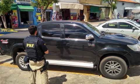 PRF recupera em Floriano veículo roubado em Luís Eduardo Magalhães