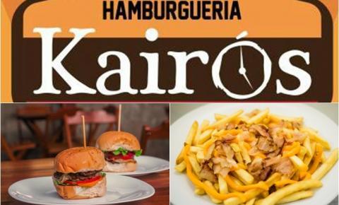 Hamburgueria Kairos está na Expocorrente!
