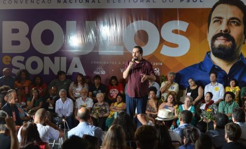 PSOL confirma Boulos como candidato à Presidência da República