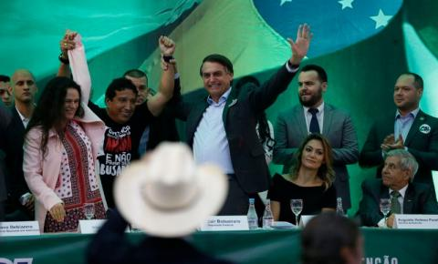 Convenção do PSL define Jair Bolsonaro como candidato à Presidência
