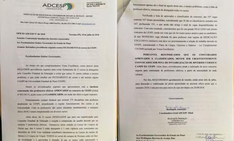Associação de docentes cobra nomeação de concursados da UESPI