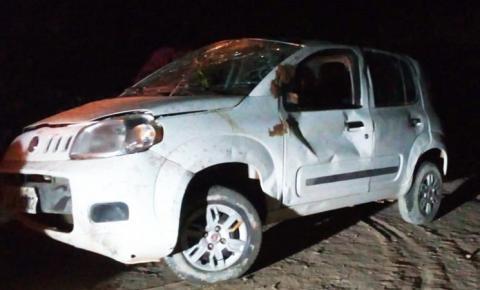 Acidente próximo à cidade de Riacho Frio deixa um morto e três feridos