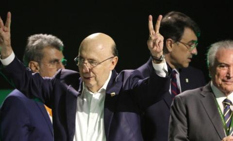 MDB lança candidatura de Henrique Meirelles à Presidência da República