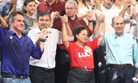 Convenção do PT lança candidatura de Wellington Dias para governador do Piauí