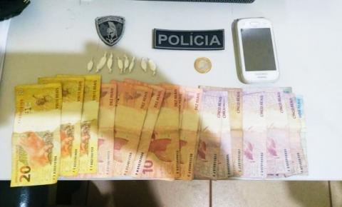 Polícia Militar prende em flagrante dois traficantes durante os festejos em Curimatá