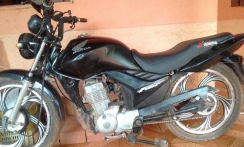 Moto é furtada no bairro Vermelhão em Corrente