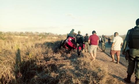 Homem morre em grave acidente na PI 255, na Fazenda do Meio