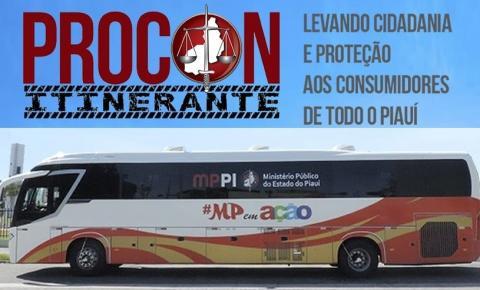 Procon Itinerante atenderá em Corrente nos dias 27 e 28 de setembro