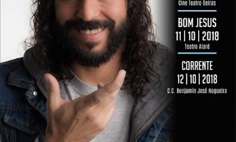 Gabriel O Pensador será a próxima atração do Projeto Seis e Meia em Corrente