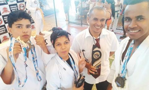 Atletas de Corrente conquistam 3 medalhas de ouro no II Campeonato Ibotiramense de Karatê