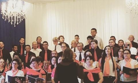Coro Ebenezer, da Igreja Batista de Corrente, participa de encontro em Teresina