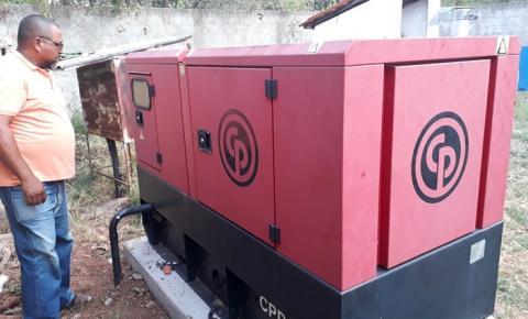 Agespisa instala a terceira estação elevatória de esgoto em Corrente