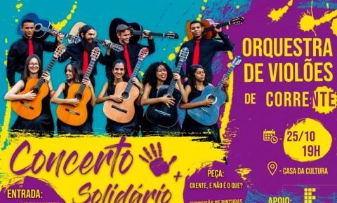 Orquestra de Violões de Corrente promove Concerto Solidário nessa quinta na Casa da Cultura