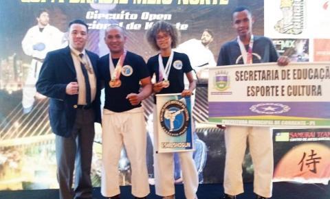 Sensei Charles Uells conquista medalha de ouro na Copa Brasil Meio Norte de Karatê