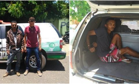SÁBADO AGITADO EM PARNAGUÁ: GPM prende dois traficantes e um conhecido arrombador de casas da cidade