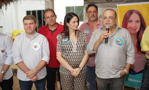 Ibaneis apoia Geórgia Nunes em evento da chapa
