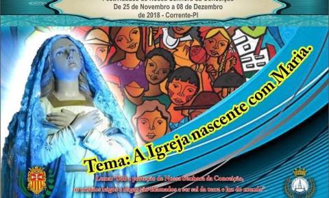 Festejos de Nossa Senhora da Conceição terão início no próximo domingo em Corrente