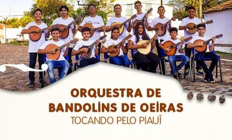 Casa da Cultura de Corrente receberá a Orquestra de Bandolins de Oeiras na próxima quinta (22)