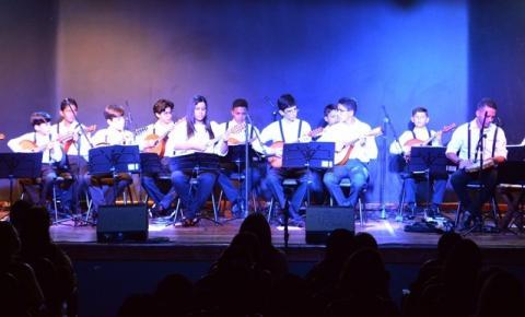 Veja as fotos da apresentação da Orquestra de Bandolins de Oeiras na Casa da Cultura de Corrente