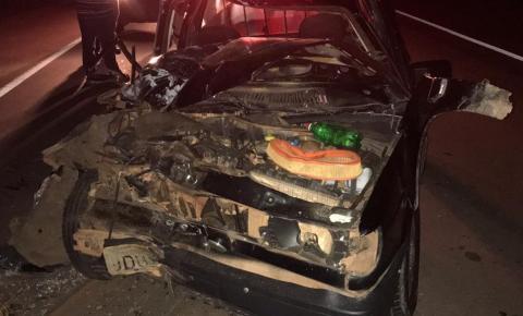 Acidente na BR 135 fez uma vítima fatal
