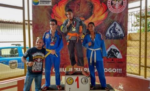 Equipes de Jiu-Jitsu de Corrente participam da 5ª Copa Formosa
