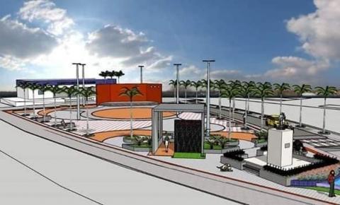 Prefeitura de Gilbués dá início à construção da nova Praça Joaquim Nogueira