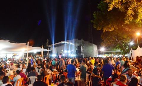 Festejos de São Gonçalo encerram com inauguração de Espaço Municipal de Eventos
