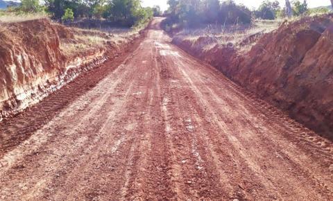 Prefeitura de São Gonçalo do Gurgueia realiza manutenção de estrada na localidade Saquinho, zona rural do município