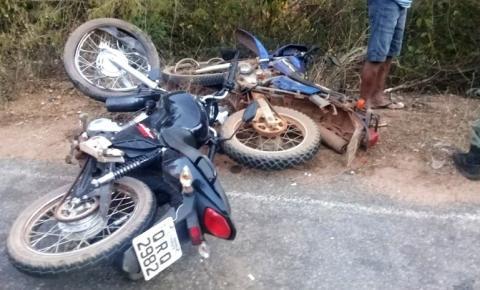 Homem perde a vida em colisão entre duas motos na PI 255, entre Corrente e Parnaguá