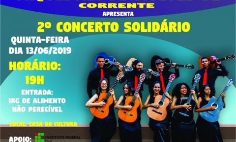 Orquestra de Violões de Corrente promove 2º Concerto Solidário