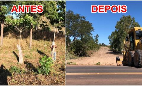 Prefeitura de São Gonçalo do Gurgueia abre novo acesso ao Bairro Nova São Gonçalo