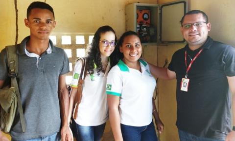 Professor e alunos do IFPI Corrente desenvolvem sistema de automatização de poços artesianos