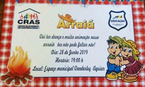 Nessa sexta tem Festival Junino em São Gonçalo do Gurgueia!