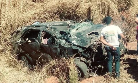 Três pessoas morrem em grave acidente na BR 135 em Monte Alegre