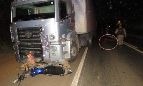 Acidente na BR 135 deixa um homem morto em Formosa do Rio Preto
