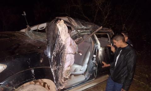 Empresário Puquinha sofre acidente na PI 415, entre Riacho Frio e Corrente