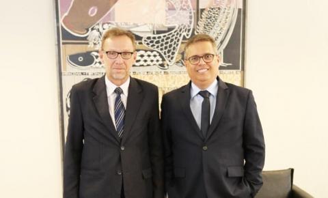 Presidente da Furpa é recebido por diversas autoridades em Palmas