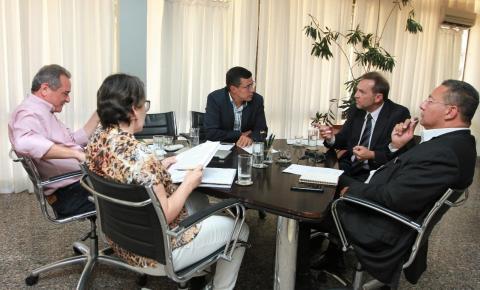 Secretário do Meio Ambiente do Tocantins recebe presidente da Furpa