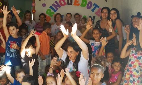 Projeto social amplia para atender mais crianças em Cristalândia