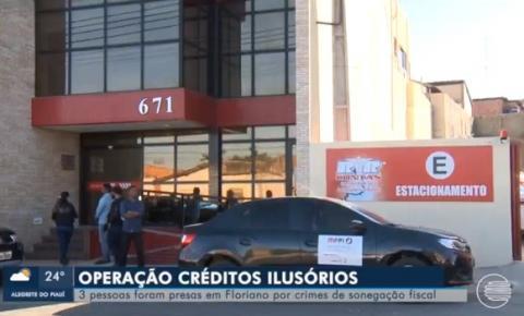 Operação créditos ilusórios investiga sonegação de 70 milhões