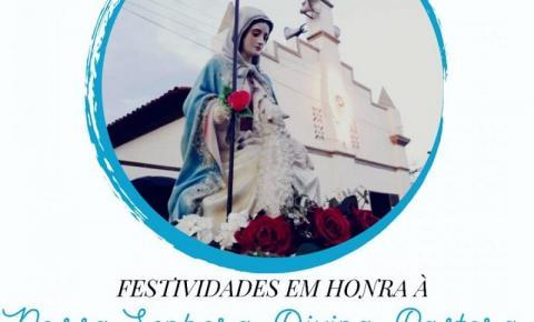 Confira a programação dos festejos da Divina Pastora em Gilbués