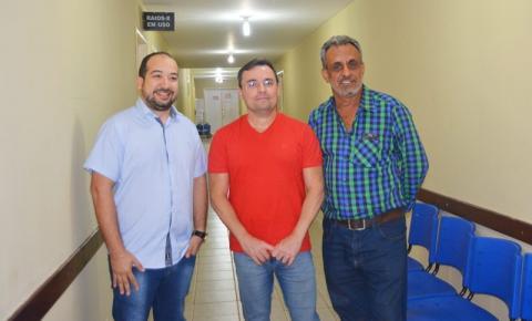 Fabio Novo visita o Hospital Regional de Corrente