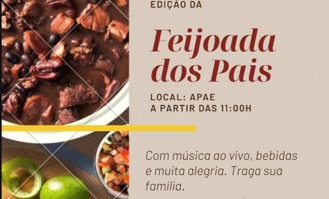 Participe da Feijoada dos Pais por apenas R$ 10 reais!