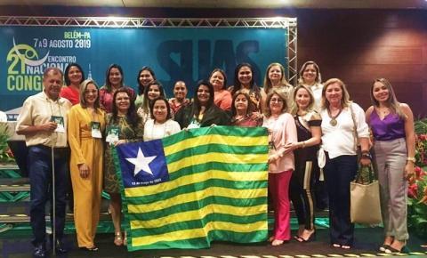 Secretária de Assistência Social de São Gonçalo do Gurgueia participa do 21º Encontro Nacional Congemas em Belém